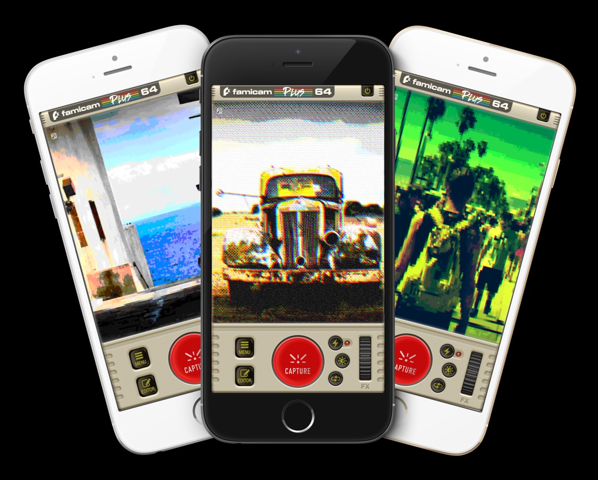 Famicam64 - The Best 8bit Camera for iOS with Retro Real